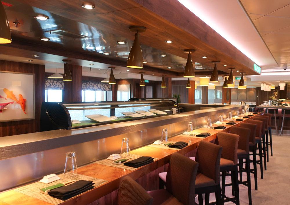 Wasabi Sushi - NCL Getaway  Photo: Calvin Wood
