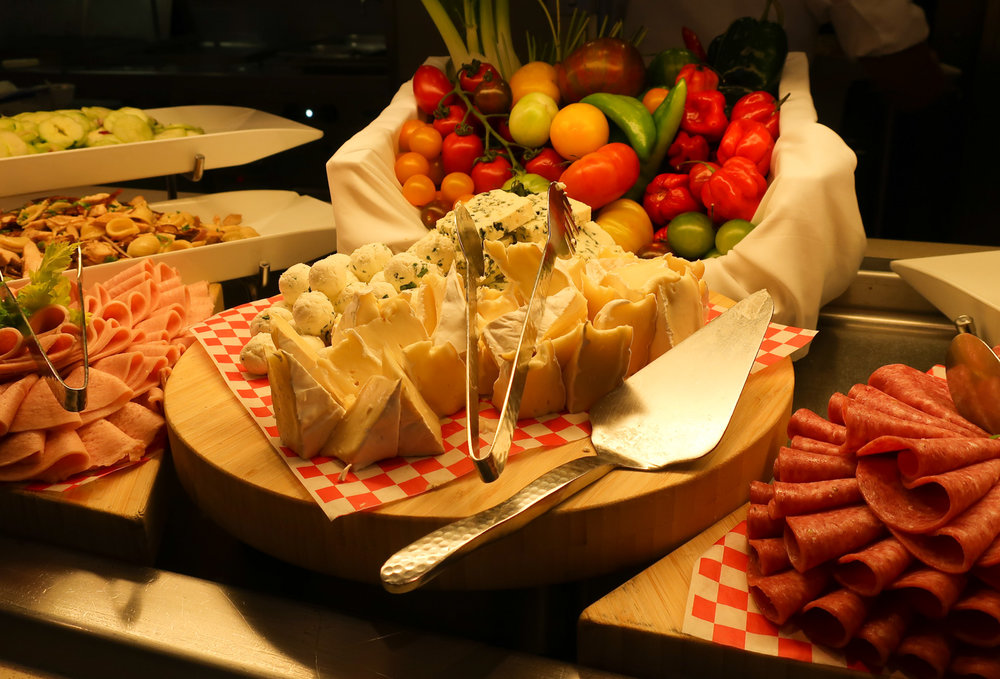 Cheese Spread - Garden Café - NCL Getaway Photo: Calvin Wood