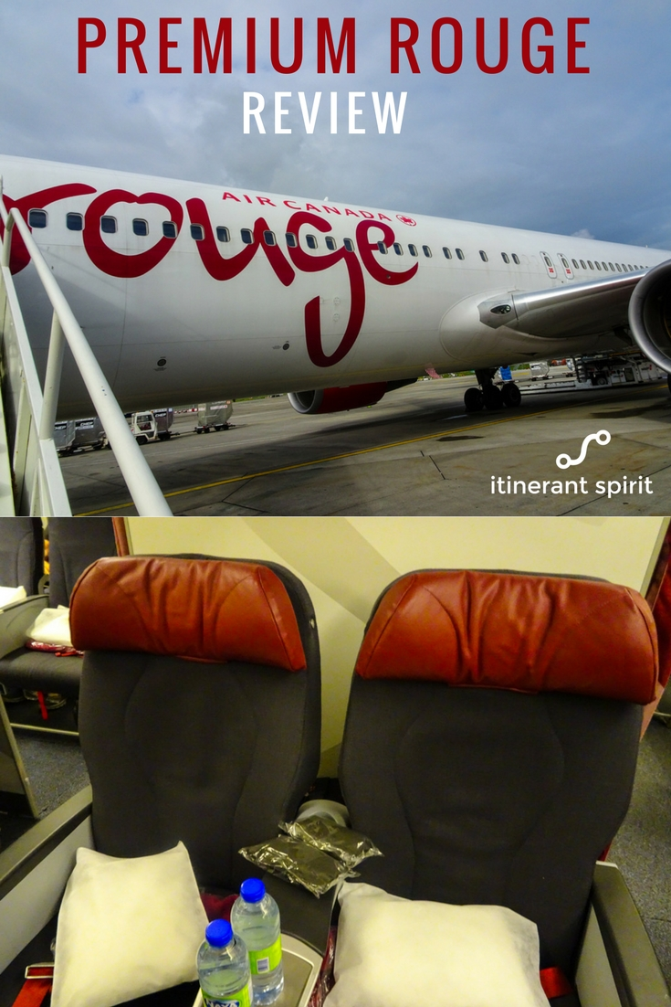 Air Canada Premium Rouge Review - Itinerant Spirit Blog