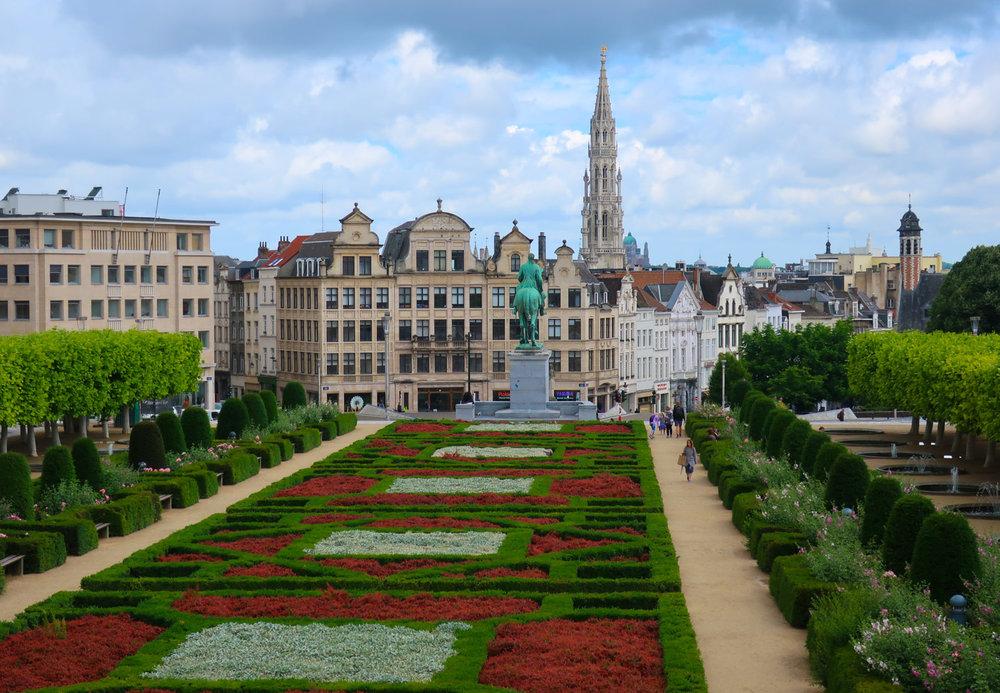 Monts des Arts - Brussels  Photo: Calvin Wood