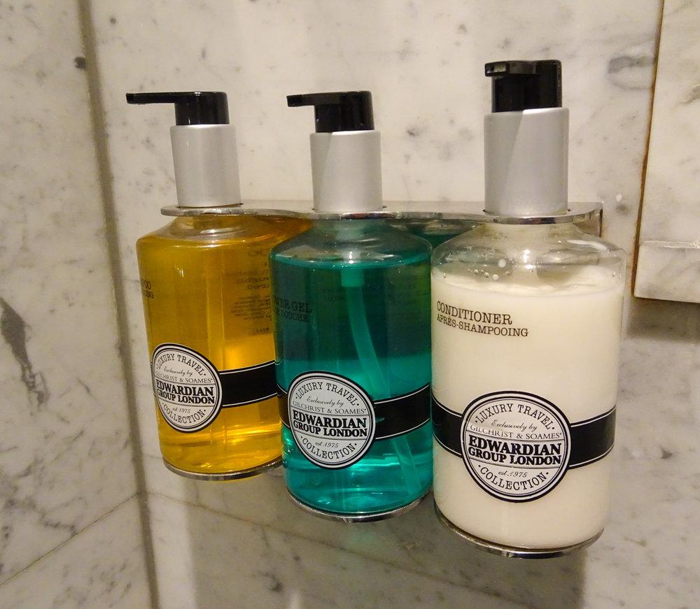 Bath Products - Radisson Blu Kenilworth Hotel Photo: Calvin Wood