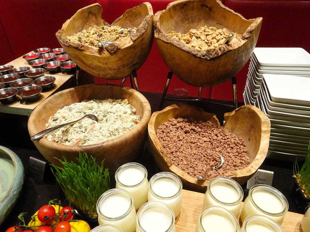 Breakfast Buffet - Radisson Blu Kenilworth Hotel  Photo: Calvin Wood