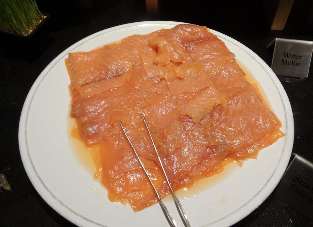 Smoked Salmon - Radisson Blu Kenilworth Hotel  Photo: Calvin Wood