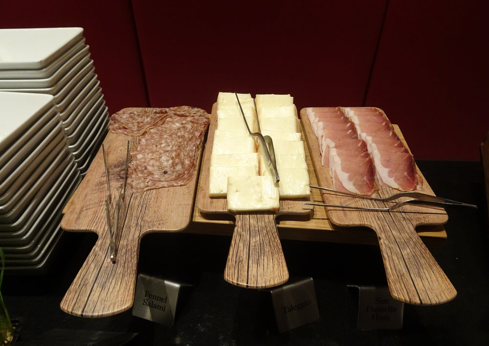 Breakfast Cheeses and Meats - Radisson Blu Keinilworth Hotel