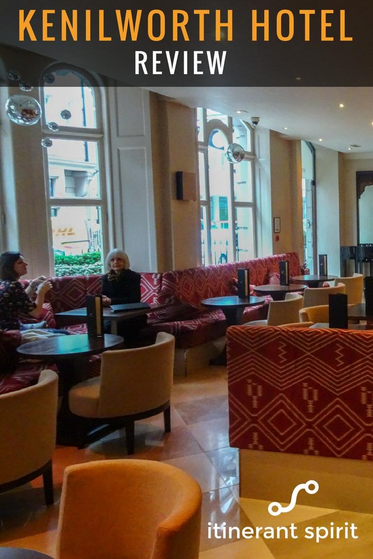 Radisson Blu Kenilworth Hotel Review - Itinerant Spirit