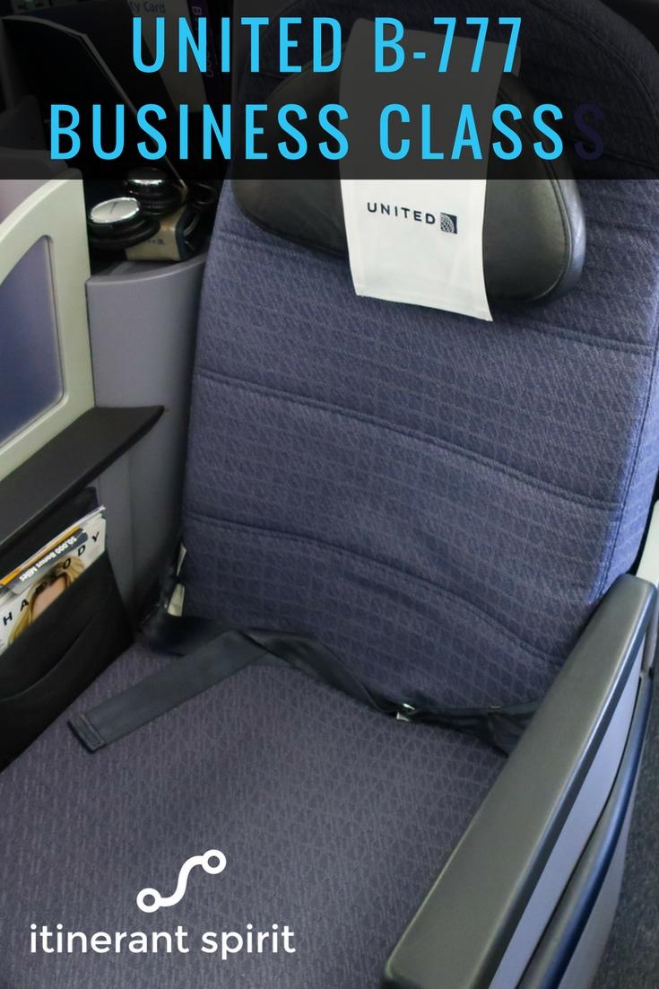 United Polaris Business Class Review - Itinerant Spirit Blog