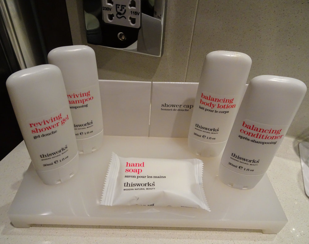 Radisson Toiletries    Photo: Calvin Wood