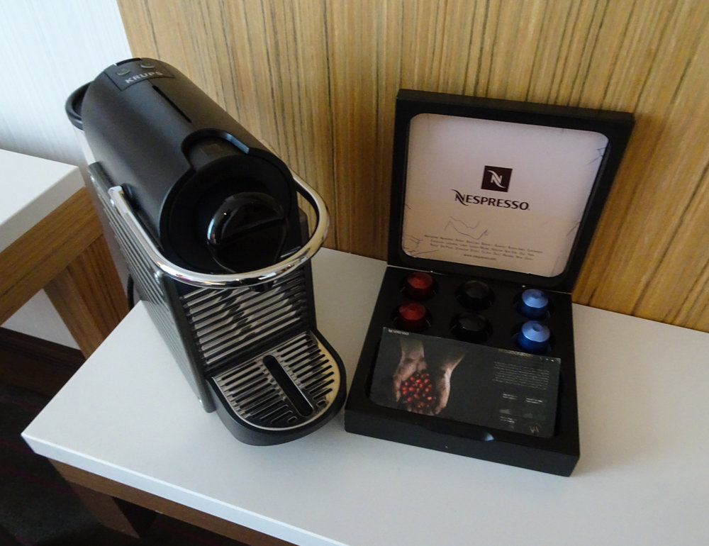 Luxe Coffee with Nespresso Machines - Radisson Blu Dublin  Photo: Calvin Wood