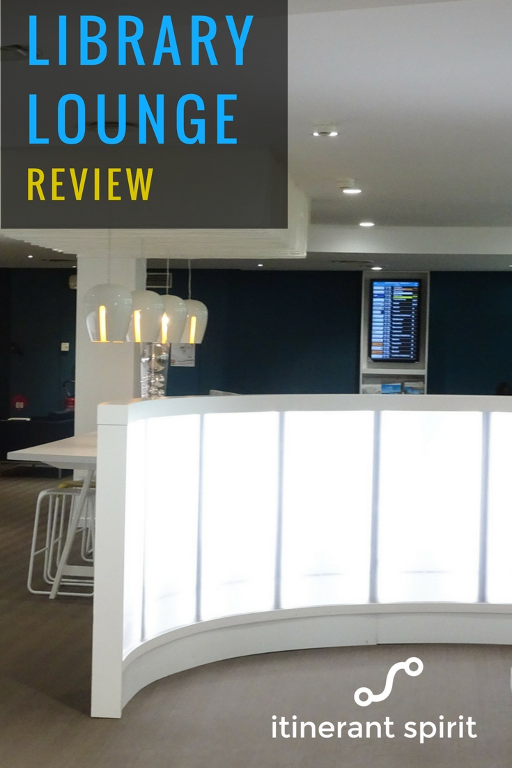 Library Lounge Nice Airport - Review - Itinerant Spirit Blog