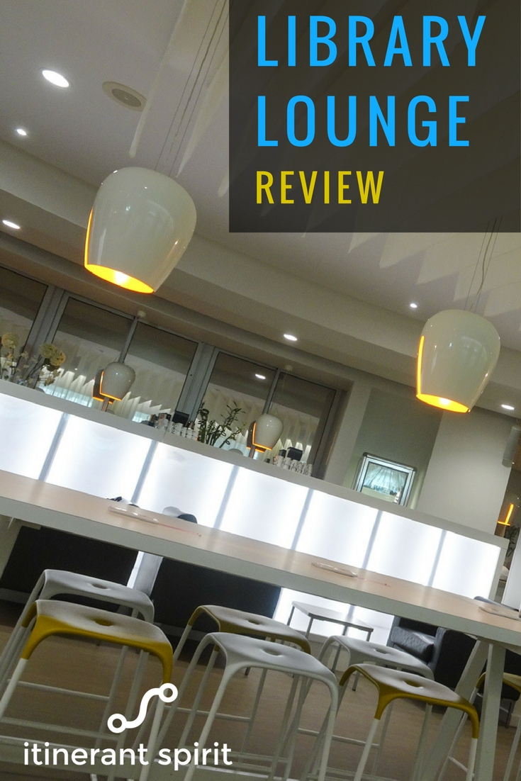 Library Lounge Nice Airport - Review - Itinerant Spirit