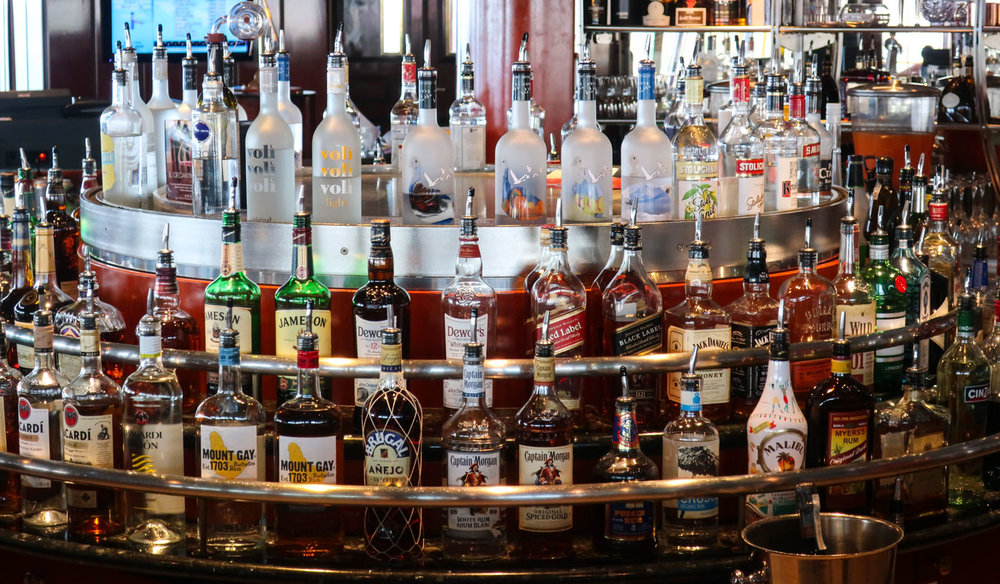 Every libation distilled under the sun! Galaxy Bar - NCL Spirit   Photo: Calvin Wood