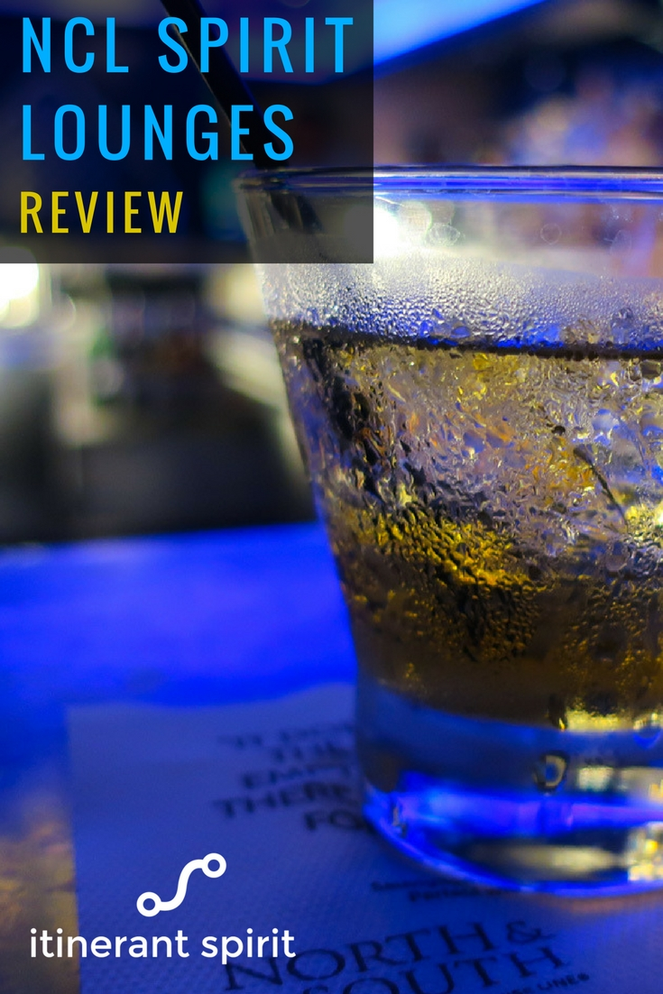 NCL Spirit - Bar Review -Itinerant Spirit Blog