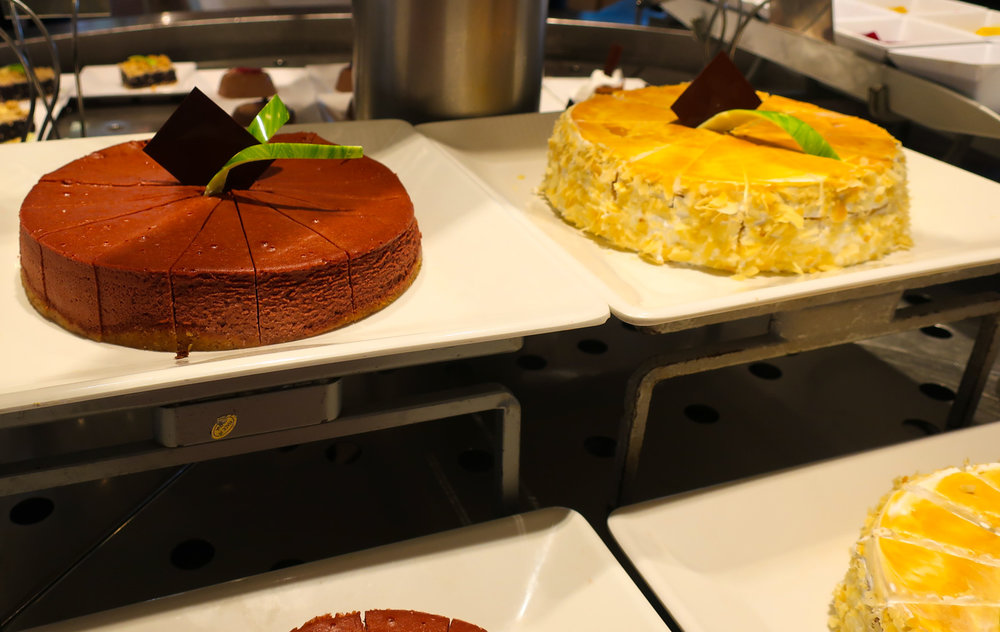Tempting Sweets at Raffles - NCL Spirit