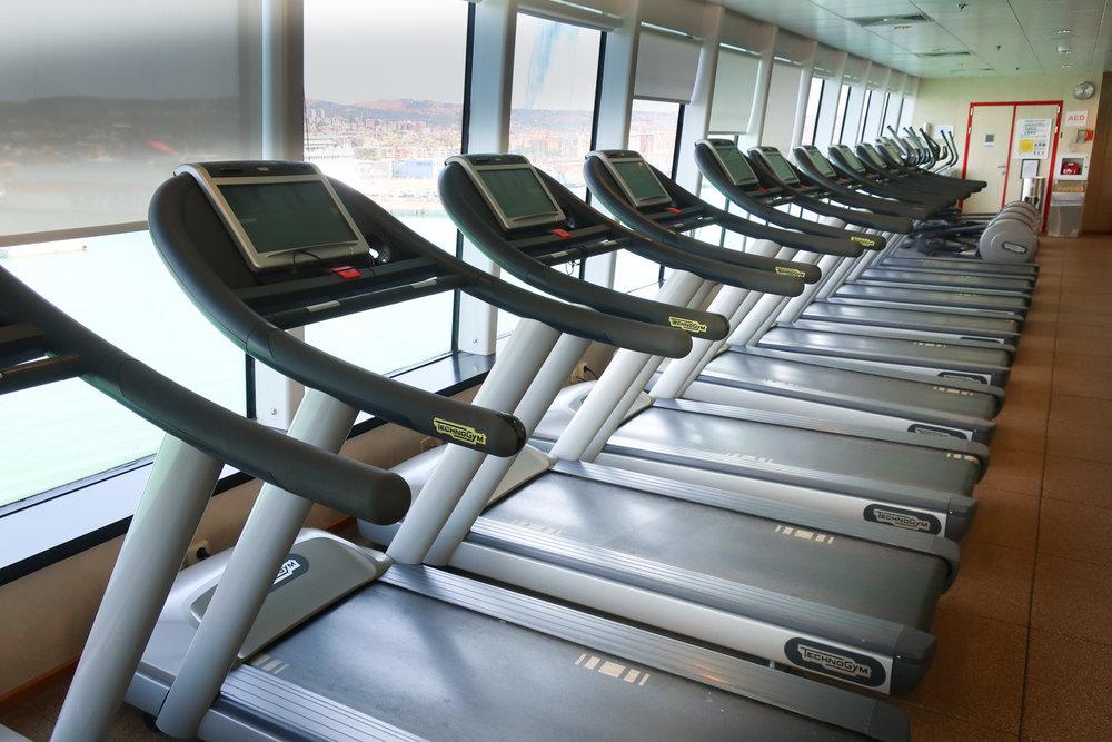Treadmills - NCL Spirit  Photo: Calvin Wood
