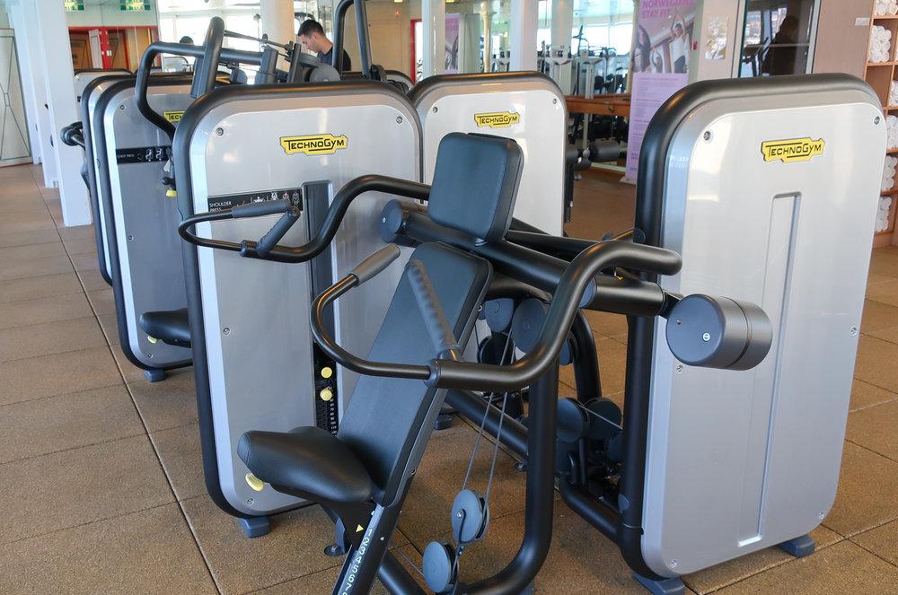 Weight Equipment - NCL Spirit  Photo: Calvin Wood