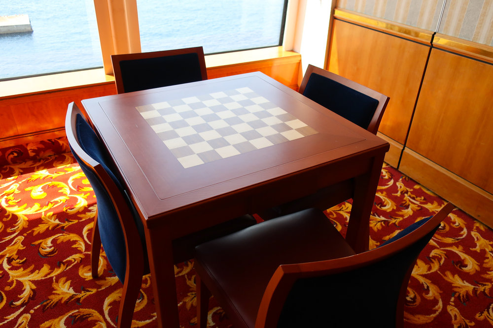 Game Central - with a View!  Card Room  - NCL Getaway   Photo: Calvin Wood