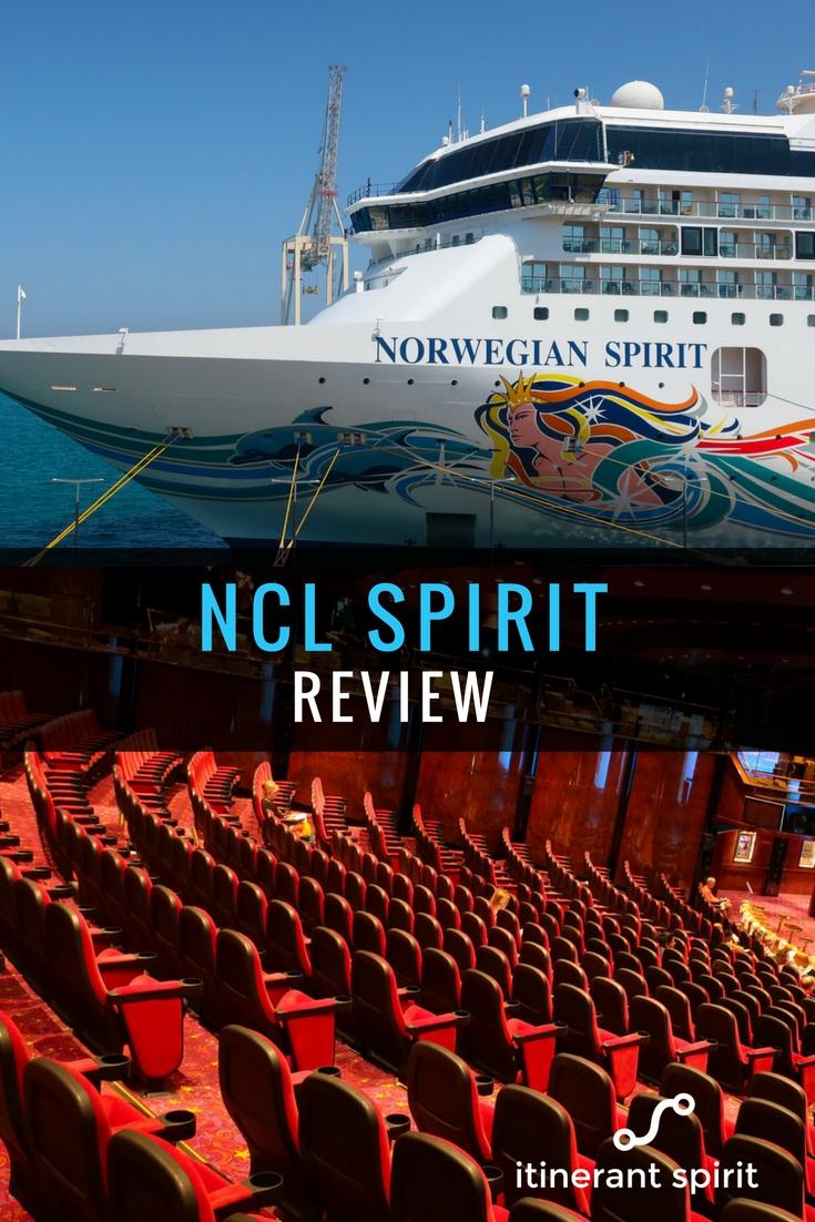 NCL Spirit Review - Public Rooms - Itinerant Spirit Blog