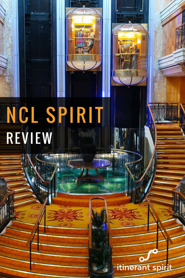 NCL Spirit Review - Public Rooms - Itinerant Spirit