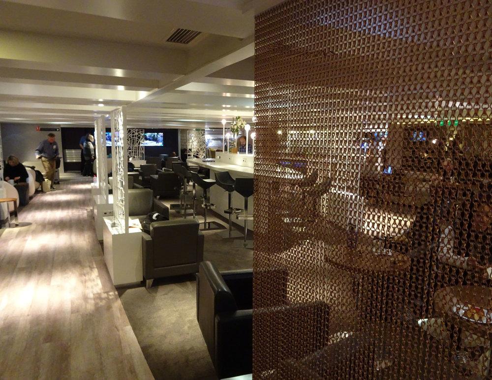 Star Alliance Lounge - Paris  Photo: Calvin Wood