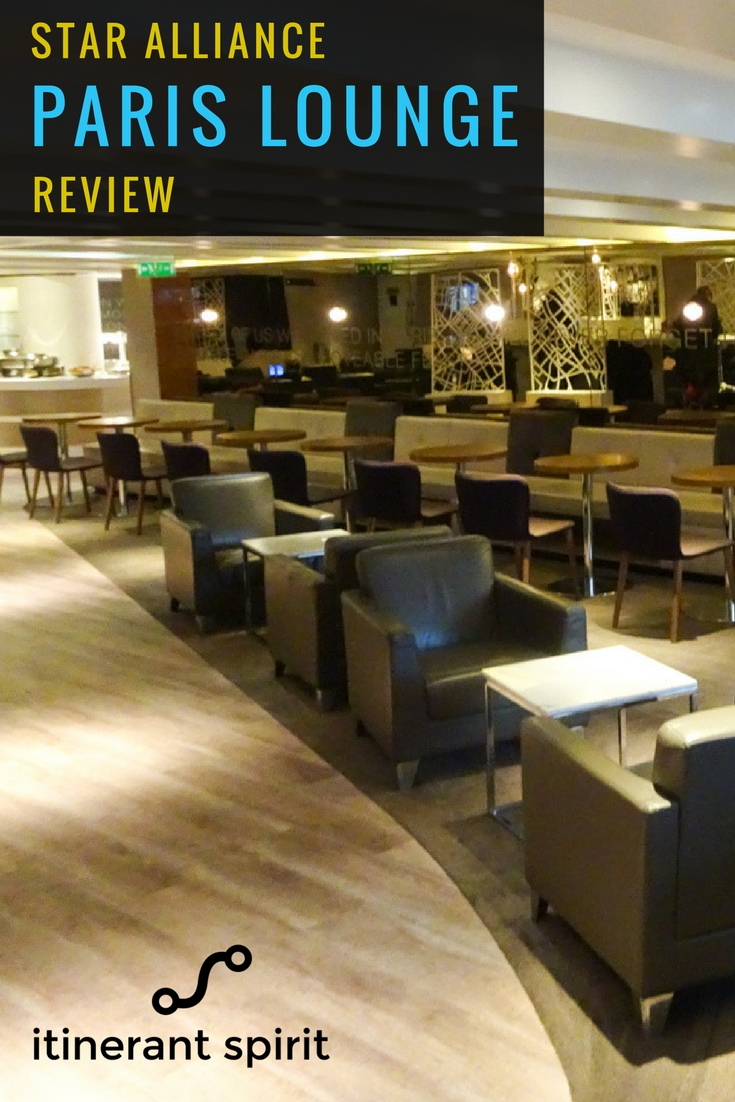 Star Alliance Lounge Paris Review - Itinerant Spirit Blog