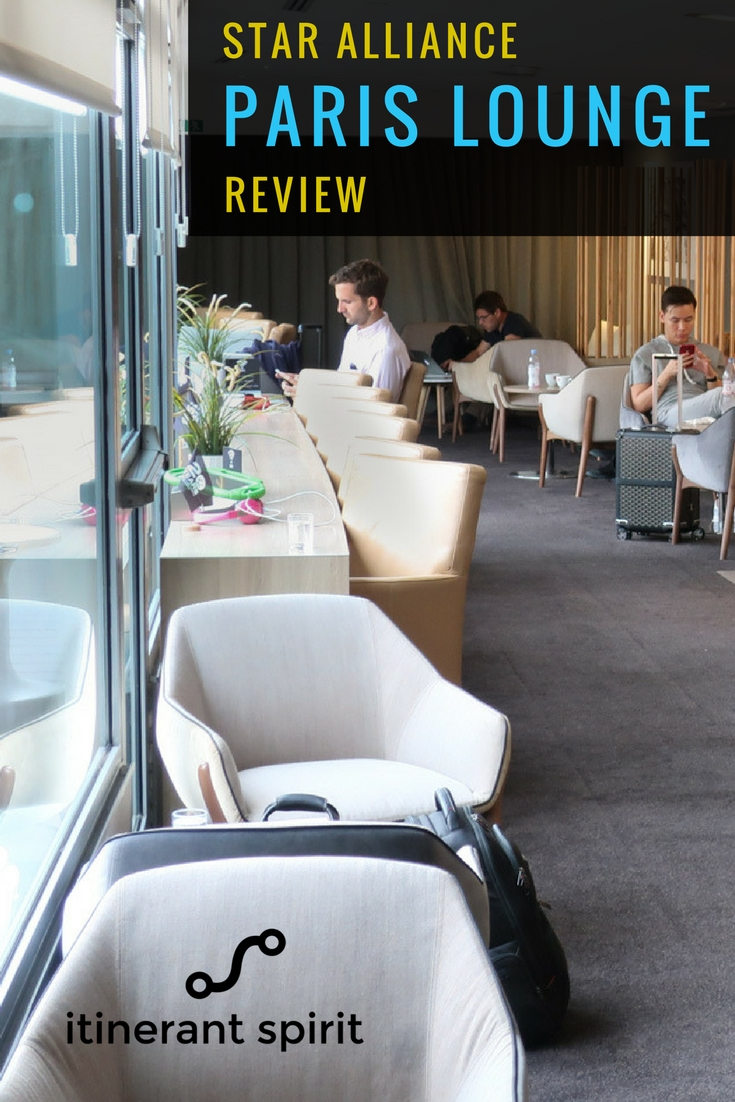Star Alliance Paris Lounge Review - Itinerant Spirit Blog