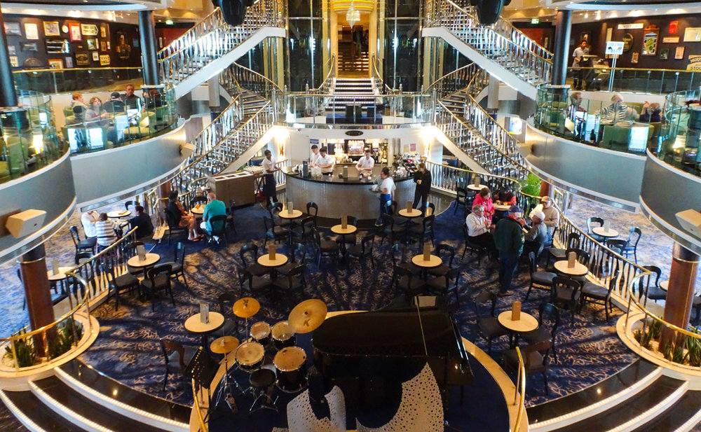 Grand Atmosphere at the Java Café - NCL Dawn  Photo: Calvin Wood