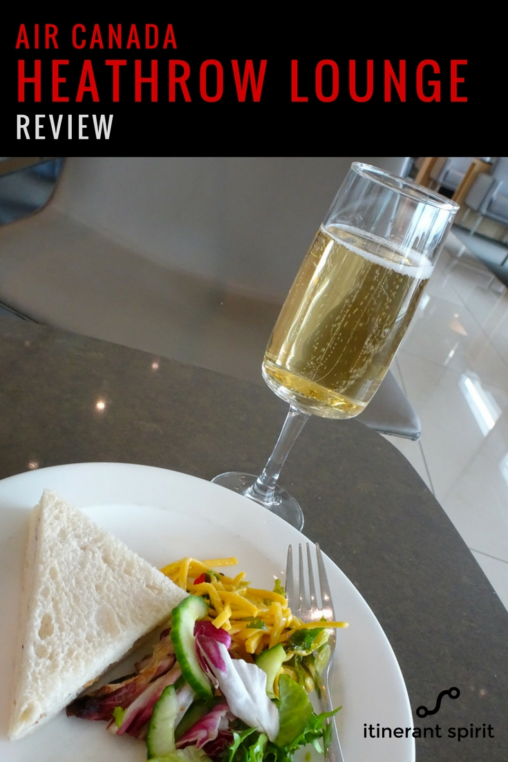 Air Canada Lounge Heathrow Review - Itinerant Spirit Blog
