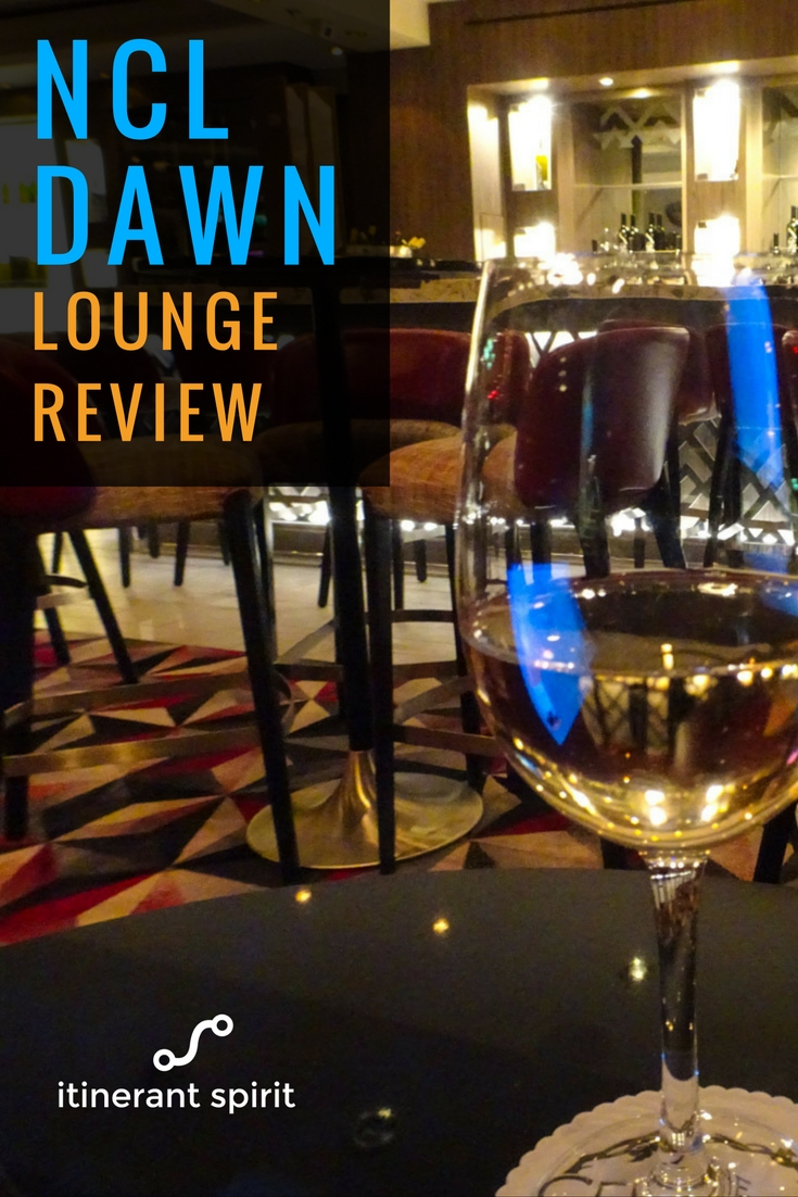 NCL Dawn - Lounges - Review - Itinerant Spirit Blog