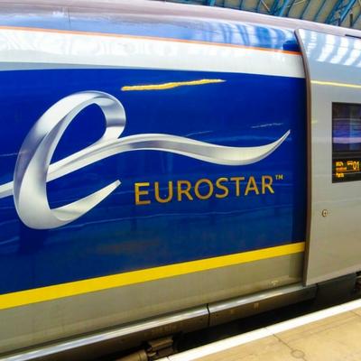 EUROSTAR PREMIER ECONOMY - Lodon to Paris