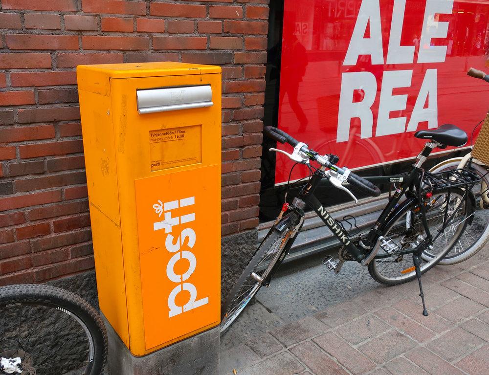 Finnish Mail Box  Photo: Calvin Wood