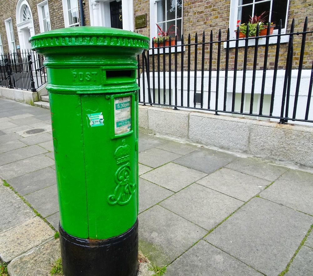 Irish Mailbox  Photo: Calvin Wood