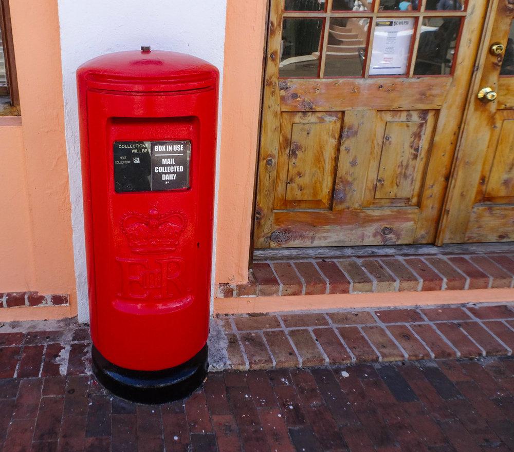 Bermudian Mailbox  Photo: Calvin Wood