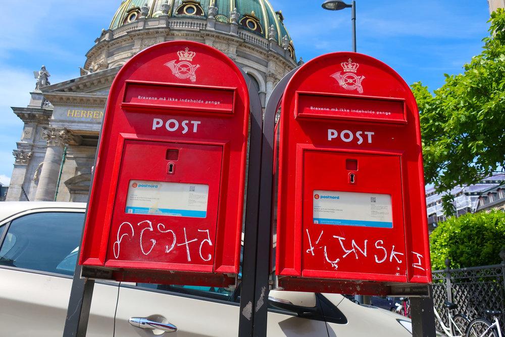 Danish Mailboxes  Photo: Calvin Wood