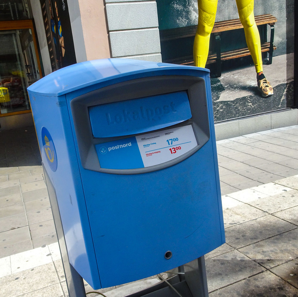 Swedish Mailbox  Photo: Calvin Wood