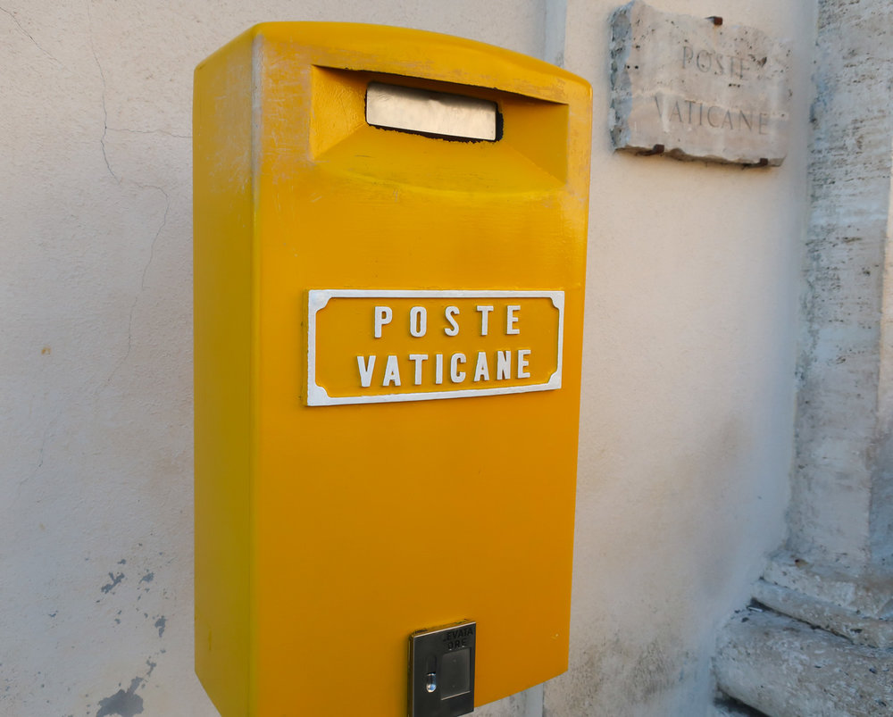 Vatican Mailbox  Photo: Calvin Wood