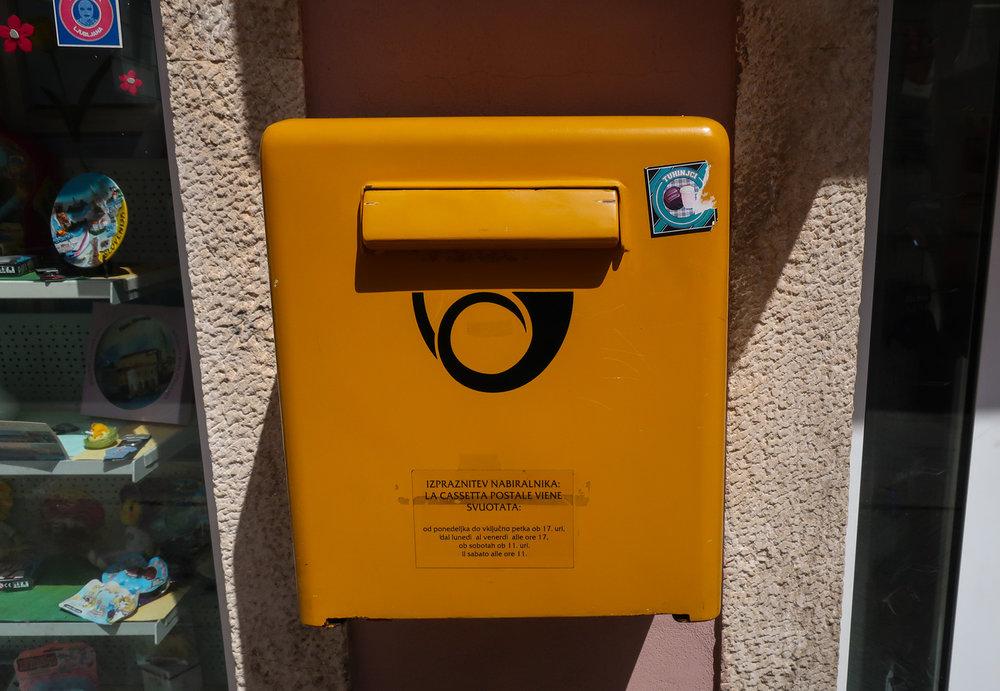Slovanian Mail Box  Photo: Calvin Wood