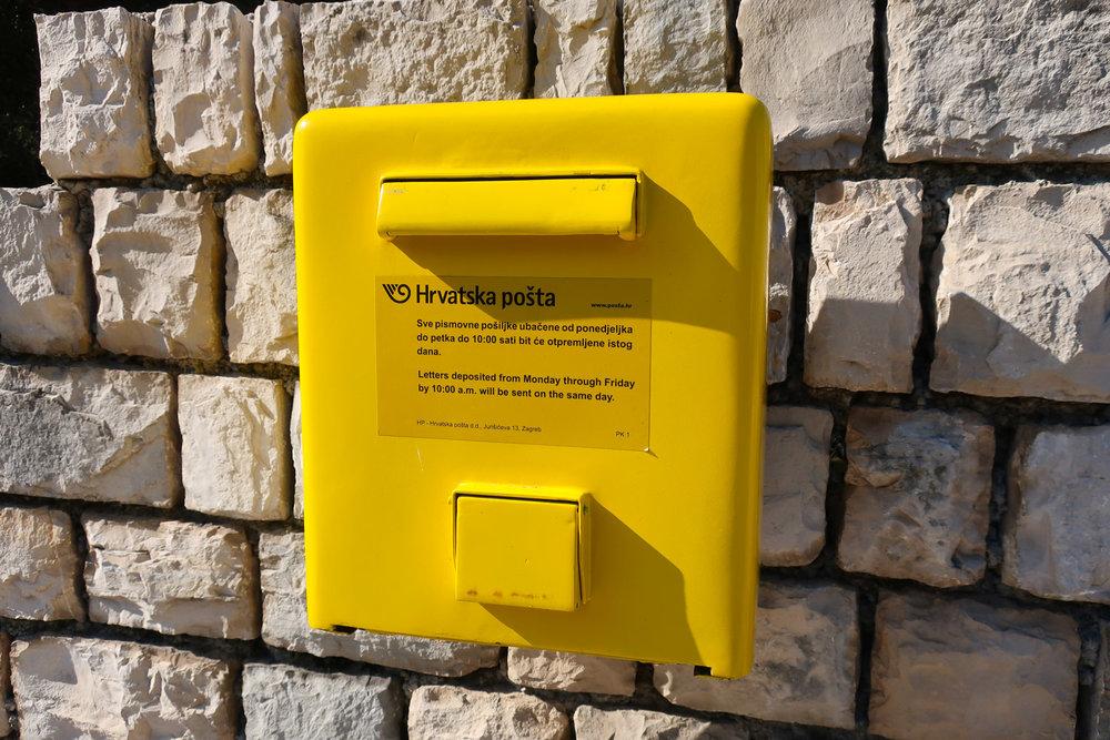 Croatian Mailbox  Photo: Calvin Wood