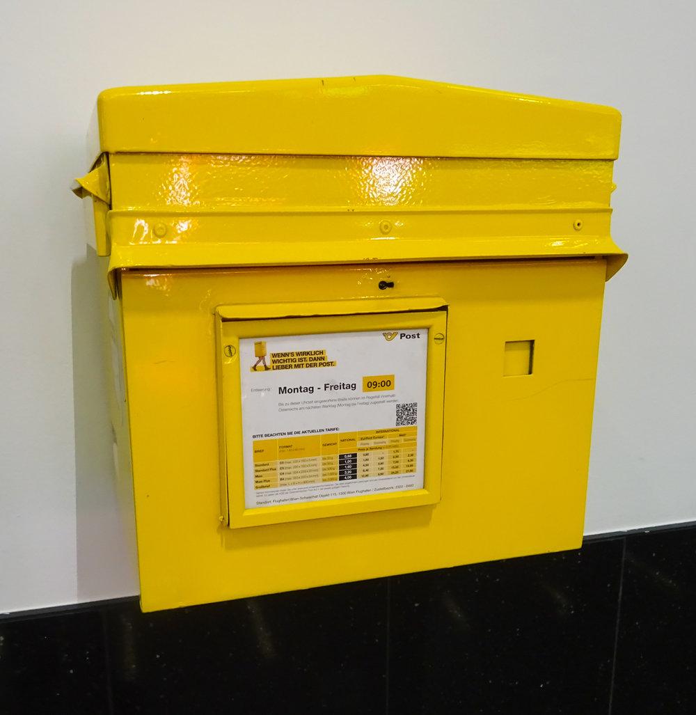 Austrian Mailbox  Photo: Calvin Wood