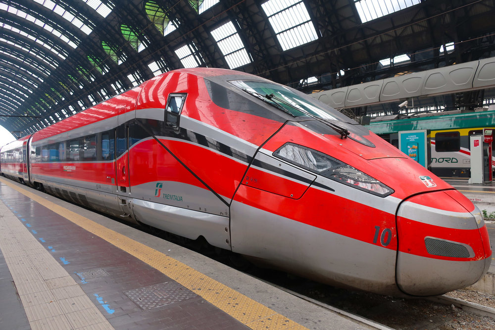 The Frecciarossa 1000 - Milano Centrale   Photo: Calvin Wood