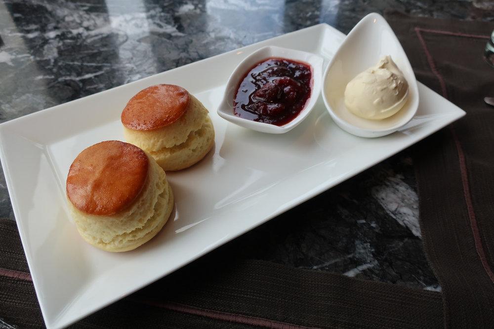 Scones - High Tea. Ritz Carlton Hong Kong Photo: Calvin Wood