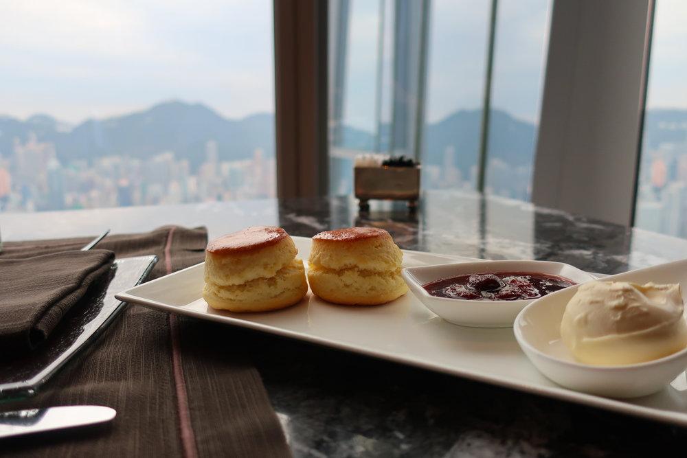 High Tea - Ritz Carlton Hong Kong Photo: Calvin Wood