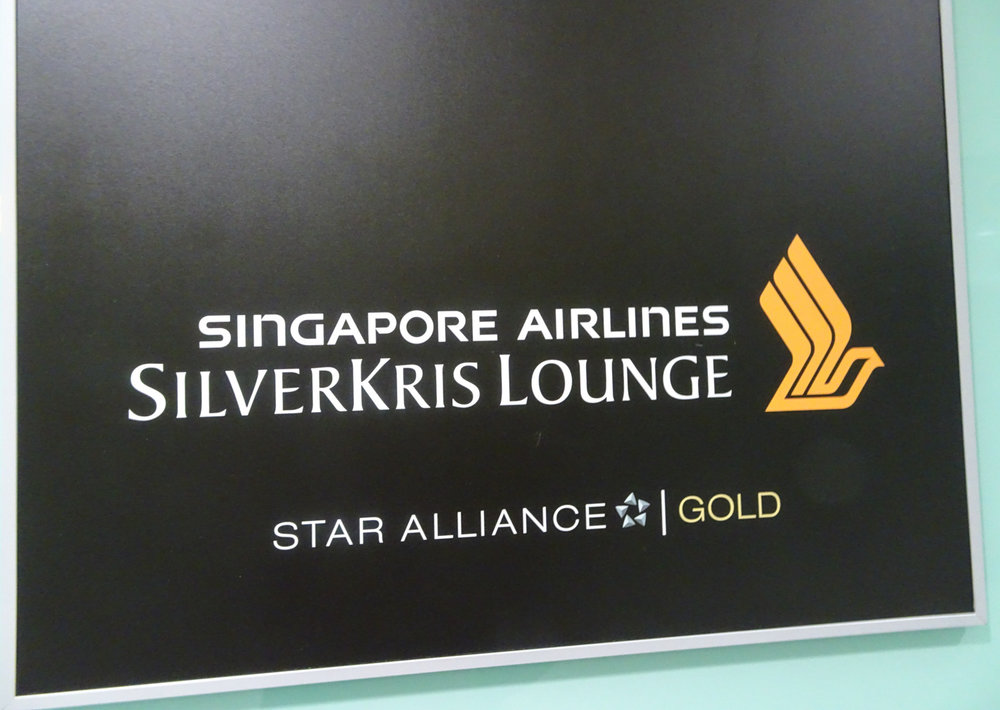 Singapore Airlines SilverKris Lounge London   Photo: Calvin Wood