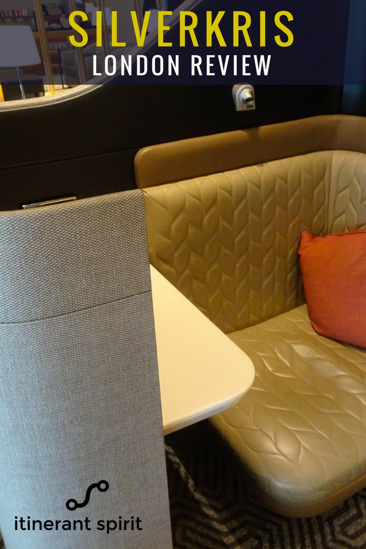 KrisSilver Singapore Airlines Business Lounge London - Itinerant Spirit Blog