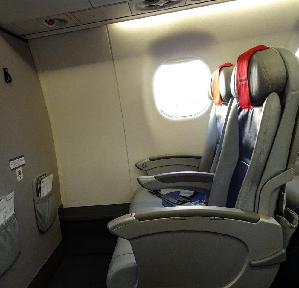 European Business Class - LOT Polish Airlines Photo: Calvin Wood