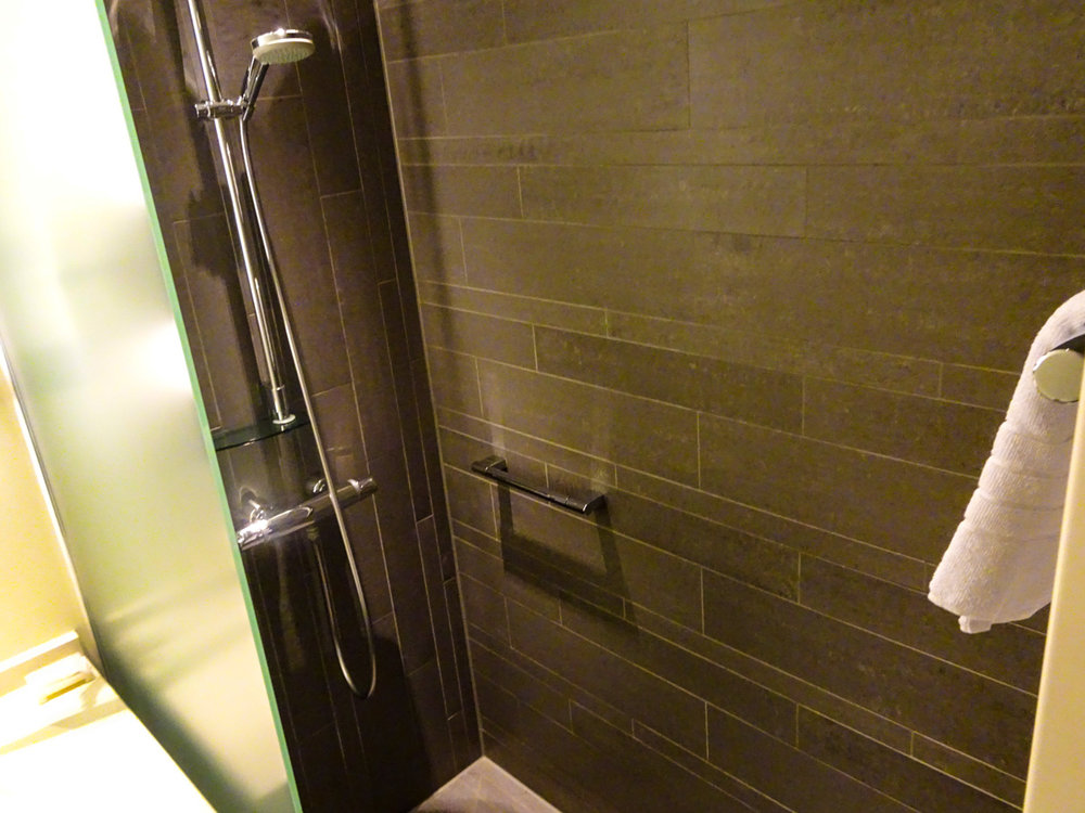 Shower - Radisson Blu Waterfront Stockholm - Photo: Calvin Wood