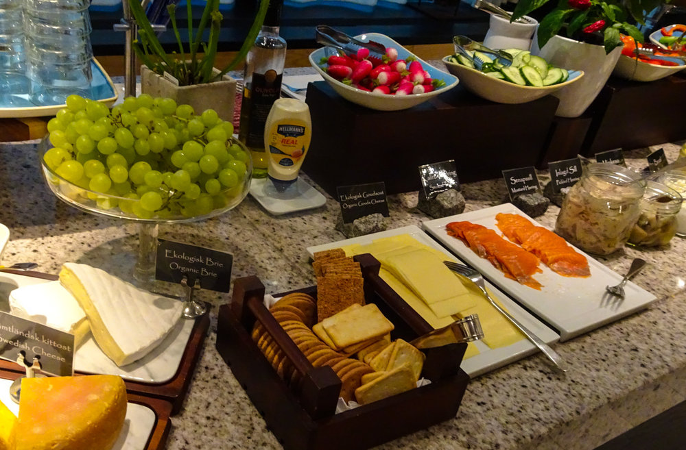 Breakfast Buffet - Radisson Blu Waterfront Stockholm - Photo: Calvin Wood