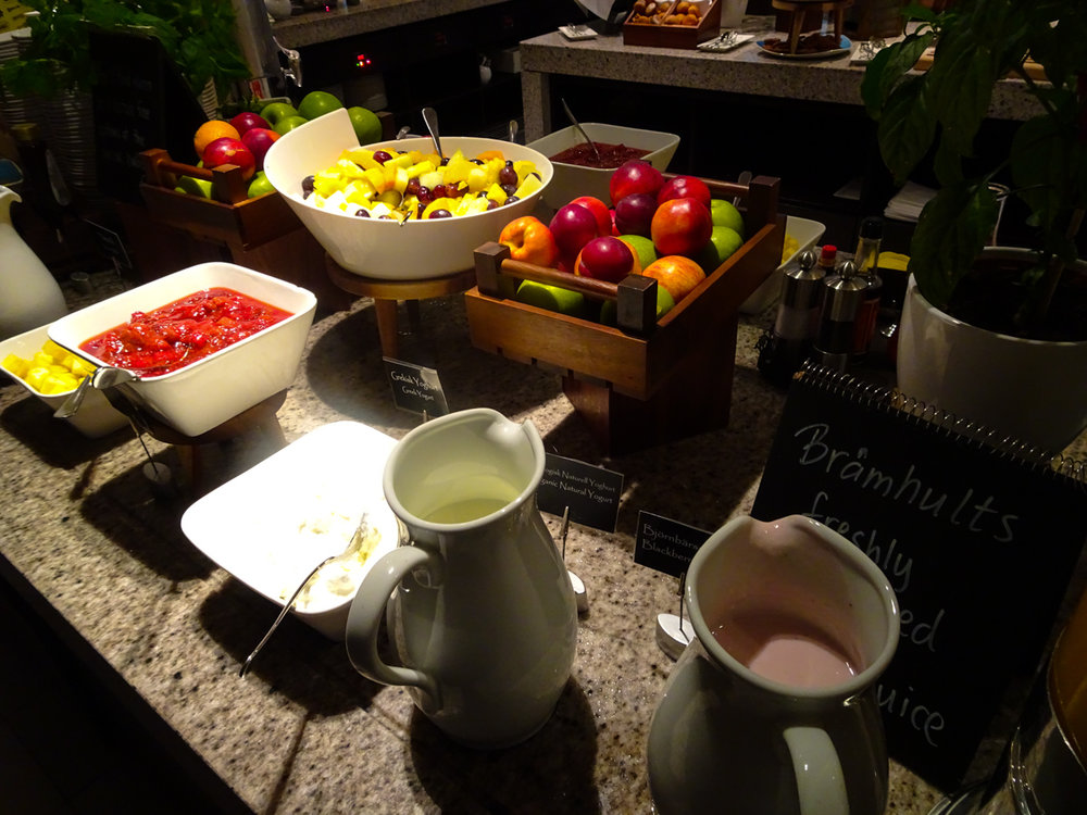 Fruit & Yogurt - Radisson Blu Waterfront Stockholm - Photo: Calvin Wood