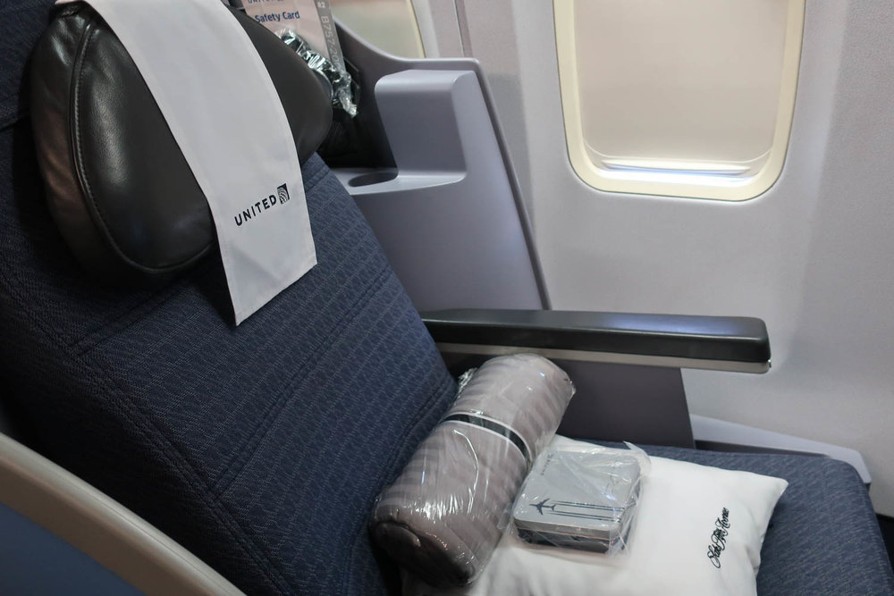 United Airlines 757 Business Class Seat