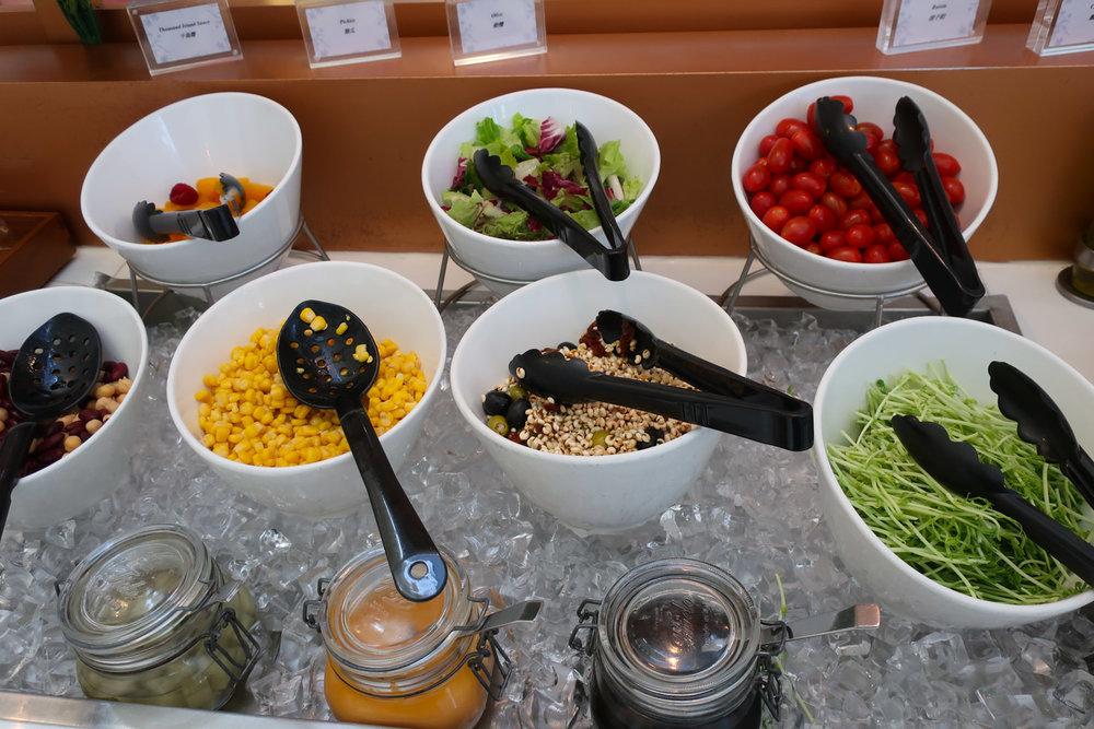 Salad Bar - Royal Orchard Lounge - Hong Kong - Photo: Calvin Wood