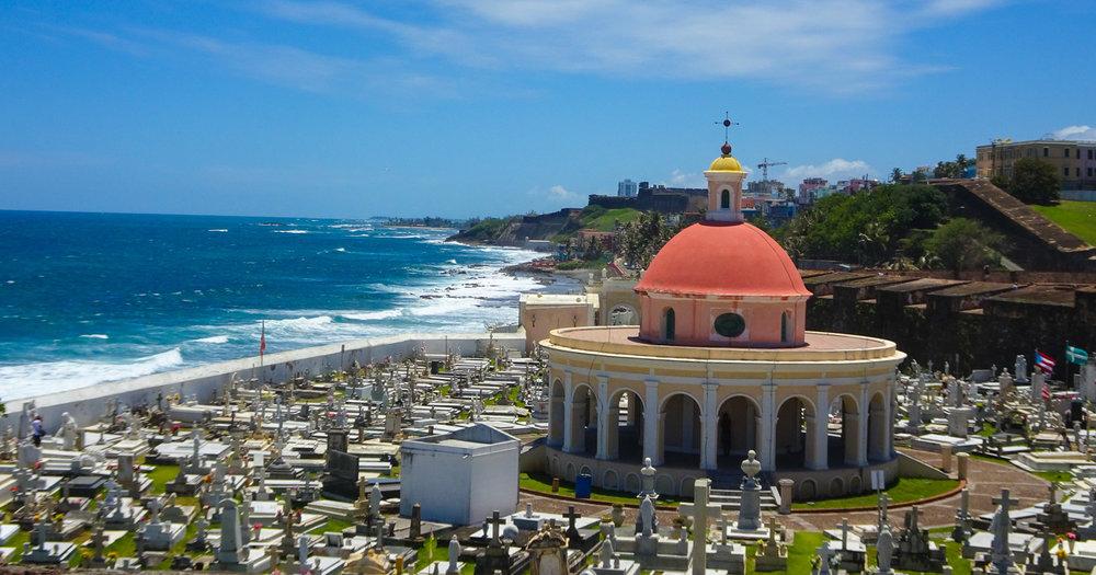 Santa Maria Magdalena de Pazzis Cemetery - San Juan Photo: Calvin Wood